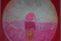 Circle  in pink