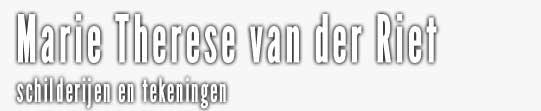 Marie Therese van der Riet