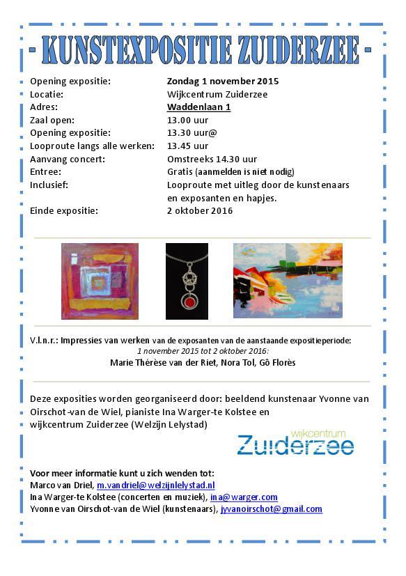 Kunstexpositie Zuiderzee